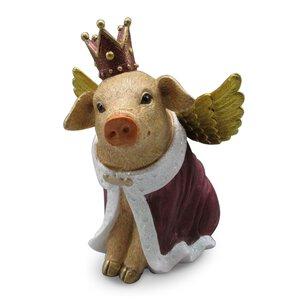 """3367412-00000 Glücksschweinchen """"King"""""""