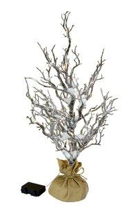 3158749-00000 LED-Baum i.Jute m.Schnee