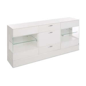 40 10 Cube Sideboard weiß Klarglas M010962-00000