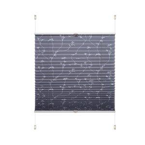 83 Liedeco Klemmfix-Plissee Ranke grau M023119-00000