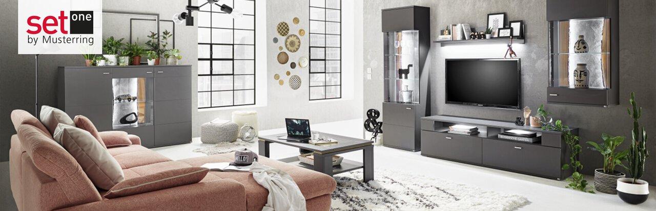 Wohnzimmer-Möbel von set one by Musterring