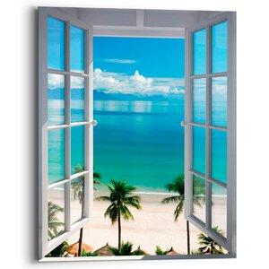 2954542-00000 Beach Window 40x50 cm