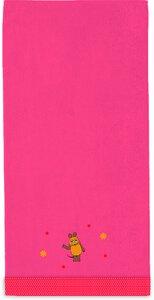 """3136606-00000 Duschtuch """"Die Maus"""" pink"""