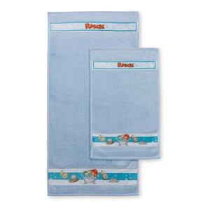 3187512-00000 Handtuch + Kinderhandtuch blau