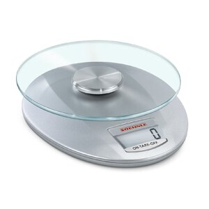 3142084-00000 Küchenwaage Roma silver digita