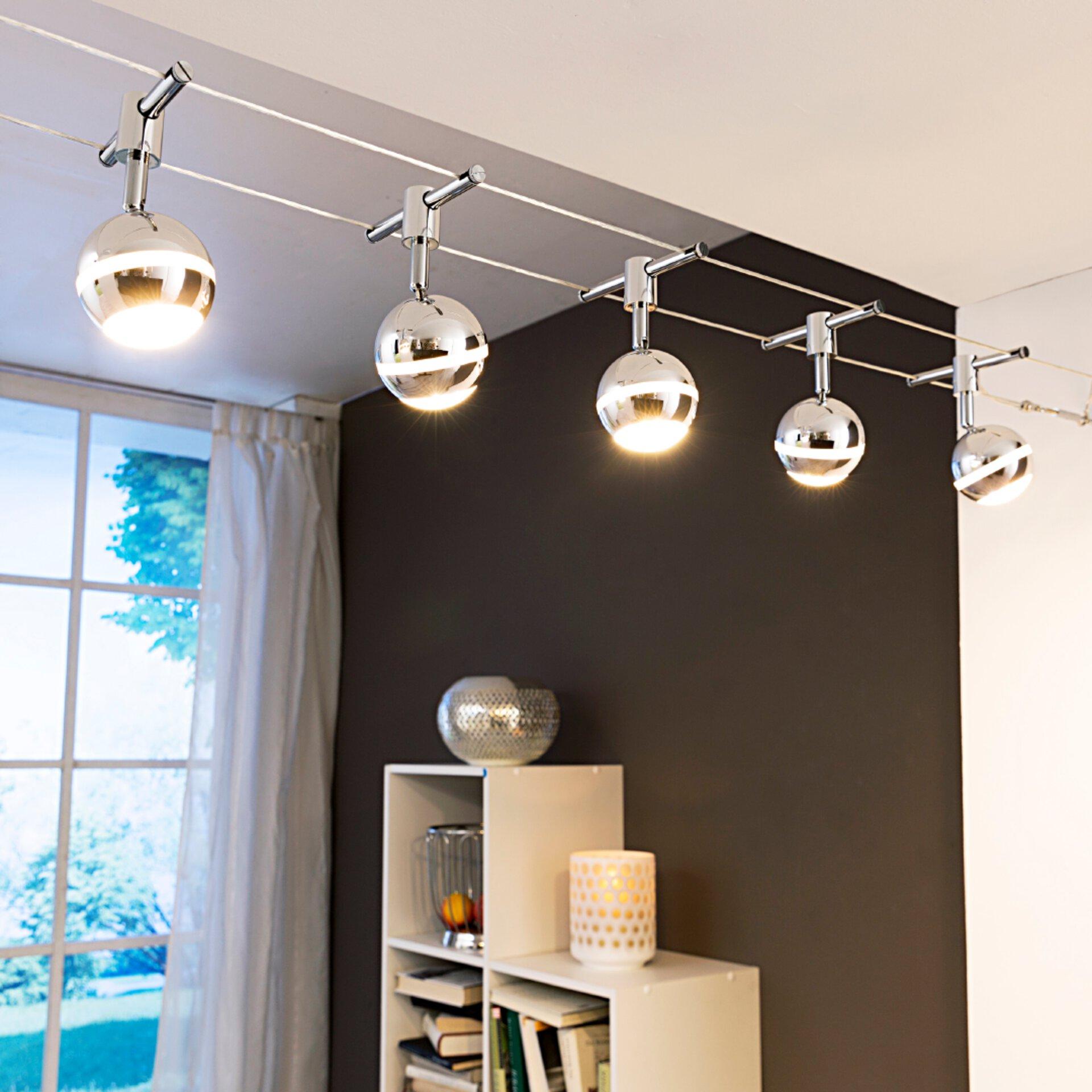 LED Spots m. Seilsystem