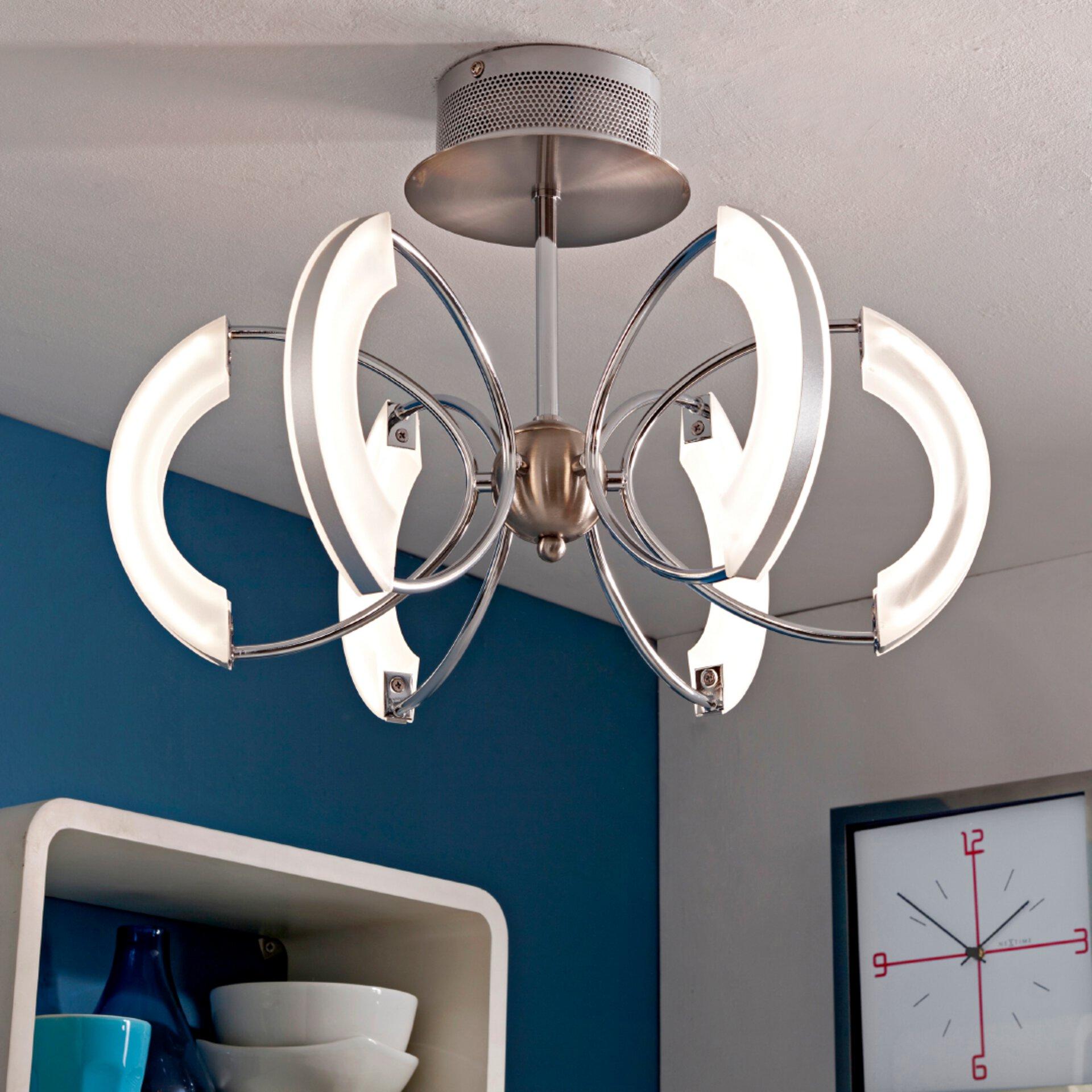 LED-Deckenleuchte, Silber