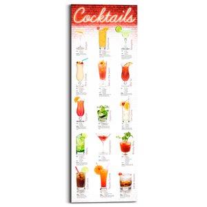 2630223-00000 Cocktails German 30x90 cm
