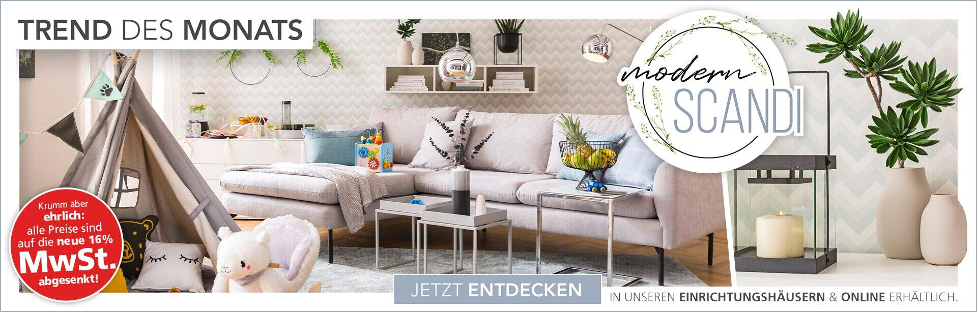Wohnzimmer mit Spielraum
