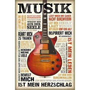 2797042-00000 Musik ist Leidenschaft 60x90cm