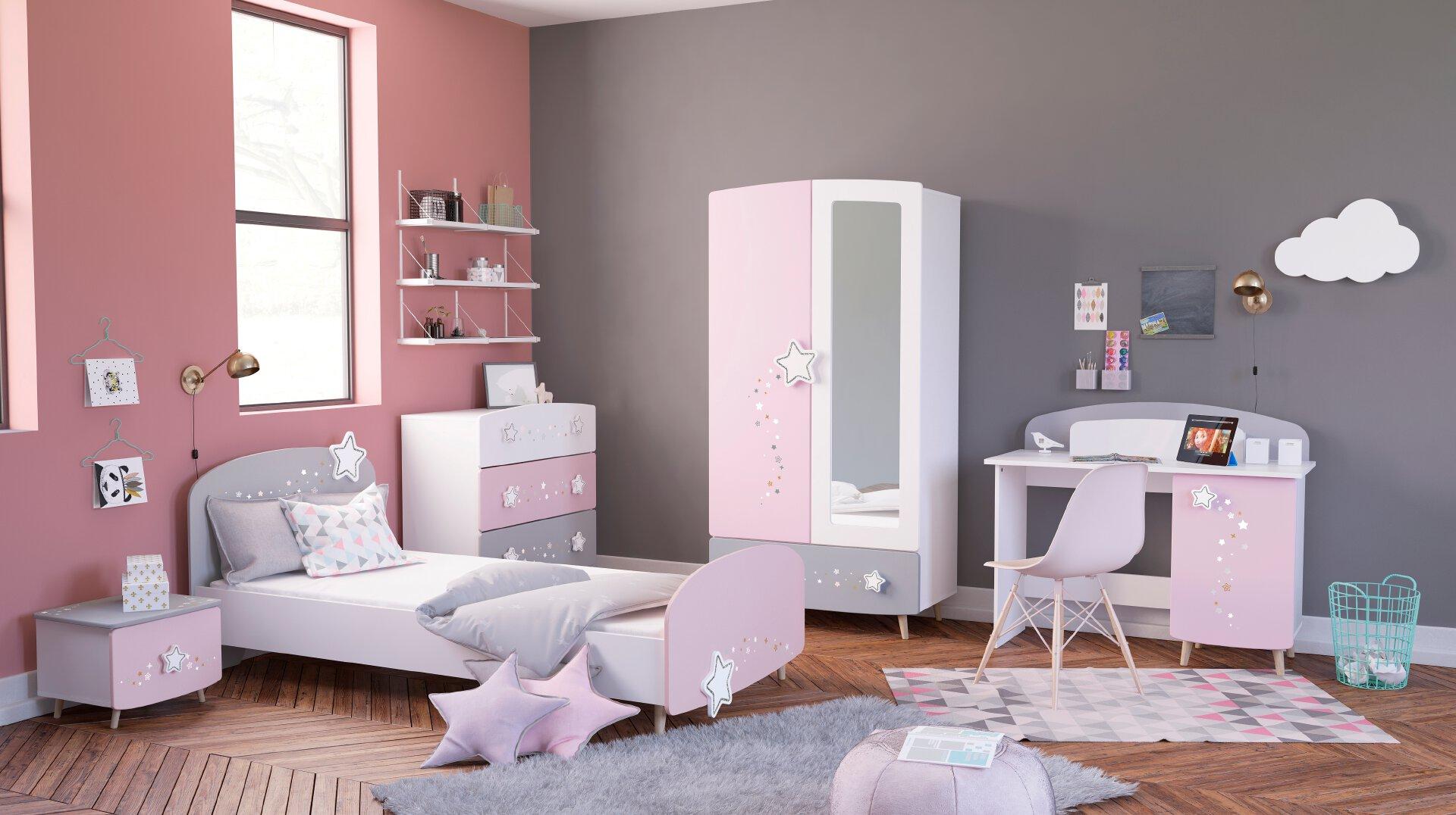 Kinderzimmer-Set 4tlg.