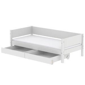 48 Flexa White Einzelbett mit Schubladen