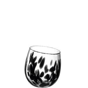 3462829-00000 Vase/Windl.Punto 17 cm schwarz