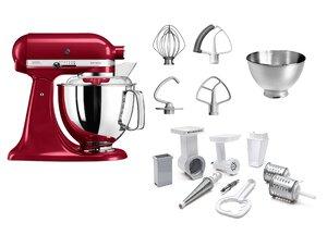 3148886-00000 Küchenmaschine liebes.-rot+Set