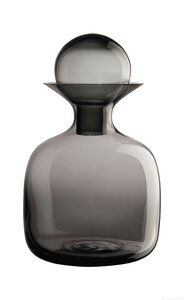 3466725-00000 Karaffe Glas large grey 1,5
