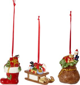 3490095-00000 Ornamente Geschenke 3tlg.