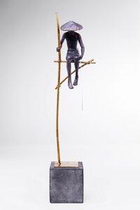 3320485-00000 Deko Figur Stilt Fisher Man