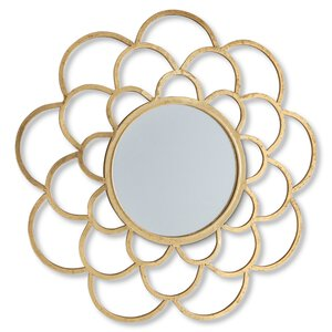 3536556-00000 Spiegel gold rund