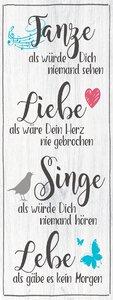 3483290-00000 Sprüche - Tanze - Liebe - Sing
