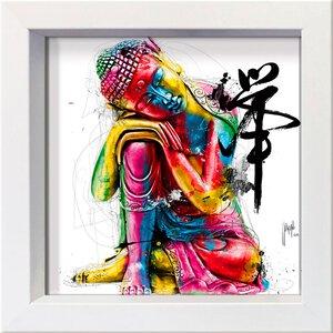 3327502-00000 Murciano,Buddha 16x16 cm