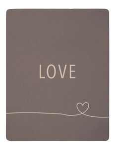 3578545-00000 Decke Love taupe