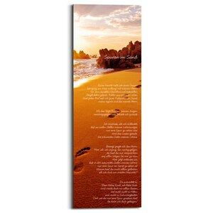 2630224-00000 Spuren im Sand 30x90 cm