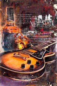 3023511-00000 Guitar Blues Night One 60x90 c