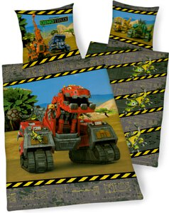 3568828-00000 Bettw. Dinotrucks 135x200