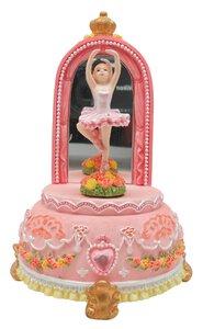 3369413-00000 Spieluhr Ballerina m Spiegel