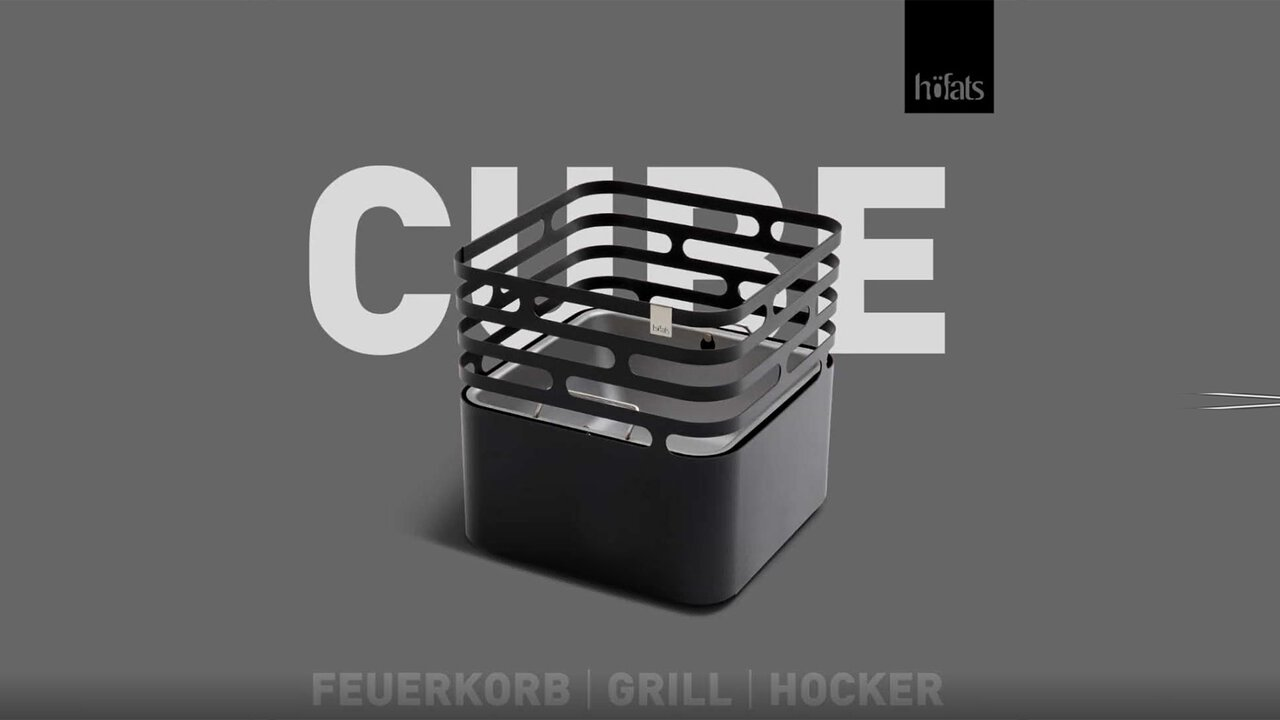 Höfats Feuerkorb Cube