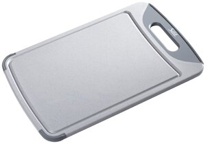 1501327-00000 Schneidebrett 38x25 cm grau