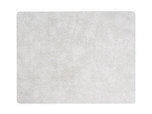 3272629-00000 Tischset Eckig L Hippo weiß-gr