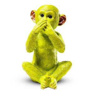 """3270910-00000 Spardose """"Monkey Iwazaru"""" grün"""