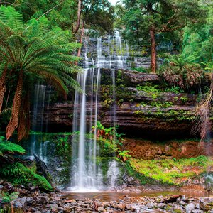 3363638-00000 Landschaft - Waterfall II