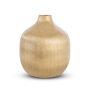3380302-00000 Vase gold Aluminium vernickelt