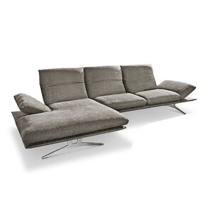 Koinor - Francis Ecksofa nickel satiniert