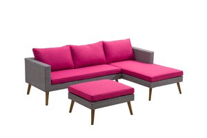 3332247-00000 Lounge 4tlg in grau