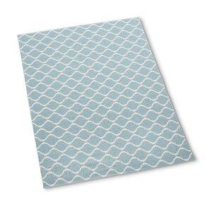 46 - Wave Design: Blau 12103