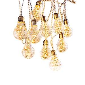 3303329-00000 Lichterkette m. 10 Glühbirnen