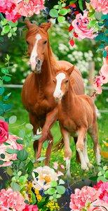 3481245-00000 Strandtuch Foal Kids Good Morn