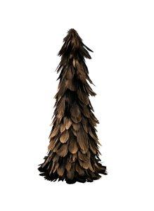 """3536535-00000 Baum """"Federn"""" schwarz/gold"""
