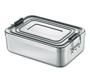 3477062-00000 Lunchbox Aluminium silber
