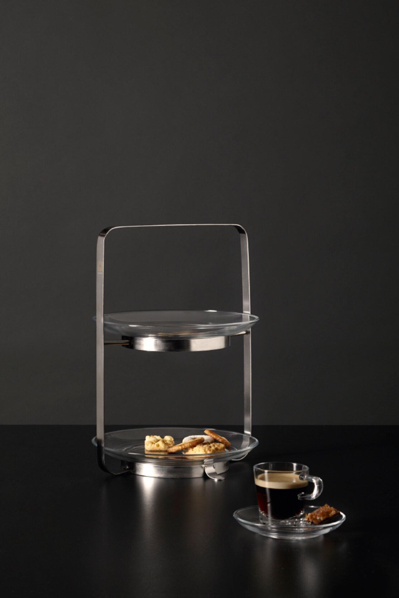 2-stöckige Etagere Senso 30,8 cm