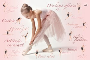 3535651-00001 Schreibunterlage Ballerina
