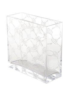 3566616-00000 Vase rechteckig Kristallglas 2
