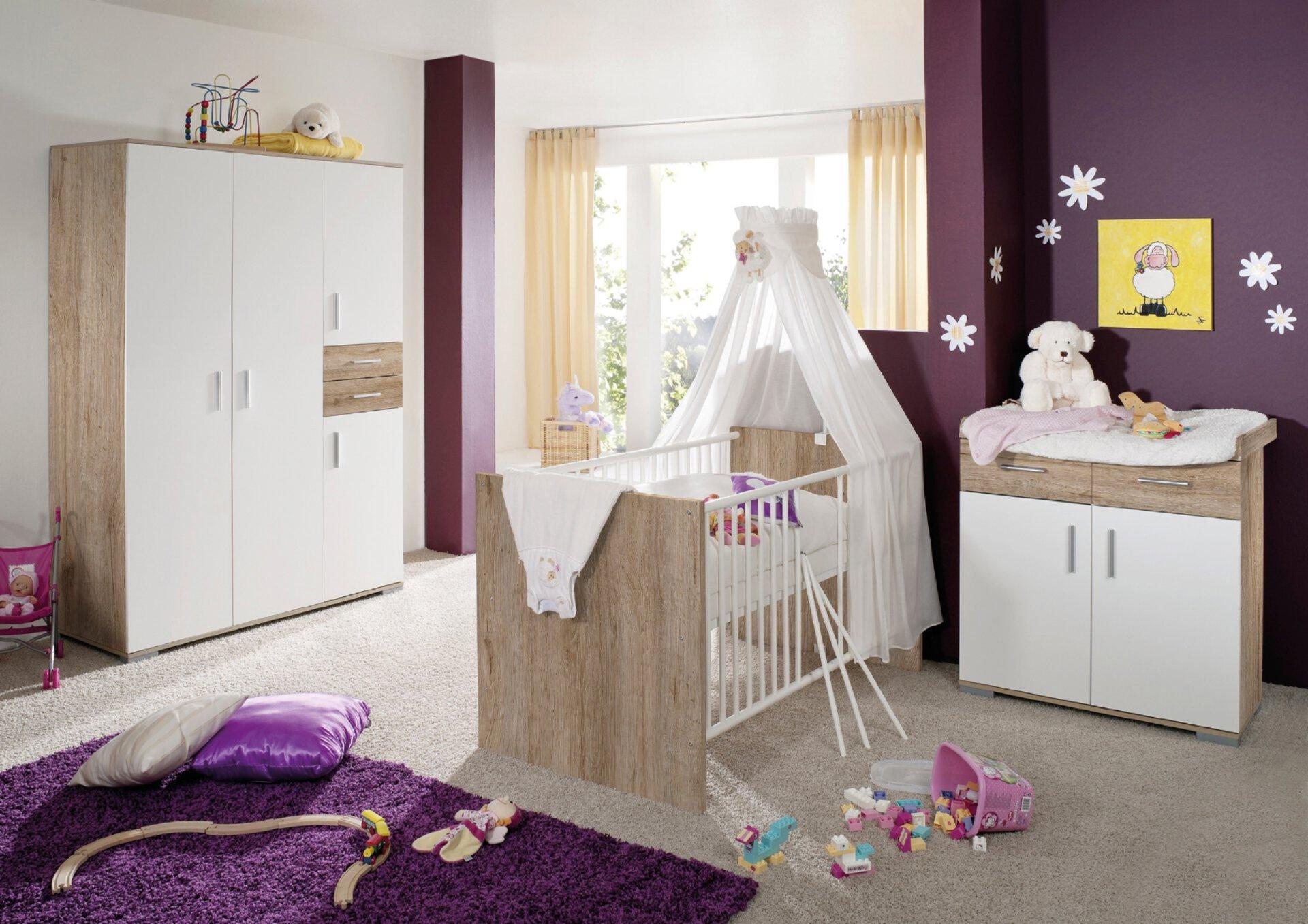 Babyzimmer-Set 4tlg von BABYPLUS