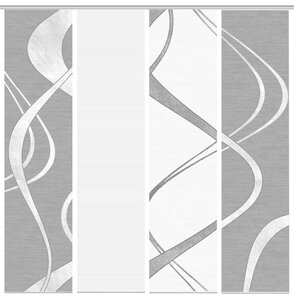 3534658-00000 Schiebewand 4-er Set Tibono