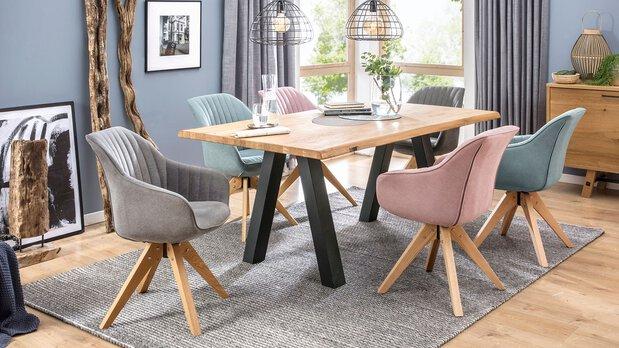 Speisezimmer Gutmann Stühle und Bänke