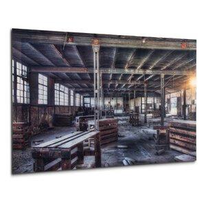 "2986425-00000 Acrylbild ""Lagerhalle"" Druck"