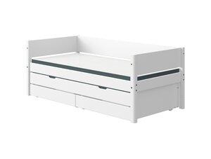 48 Flexa White Einzelbett mit Ausziehbett und Schubladen M021218-00000